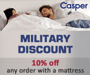 Military Discount from Casper